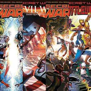 Pack 14 comics Secret Wars en précommande + 3 comics offert