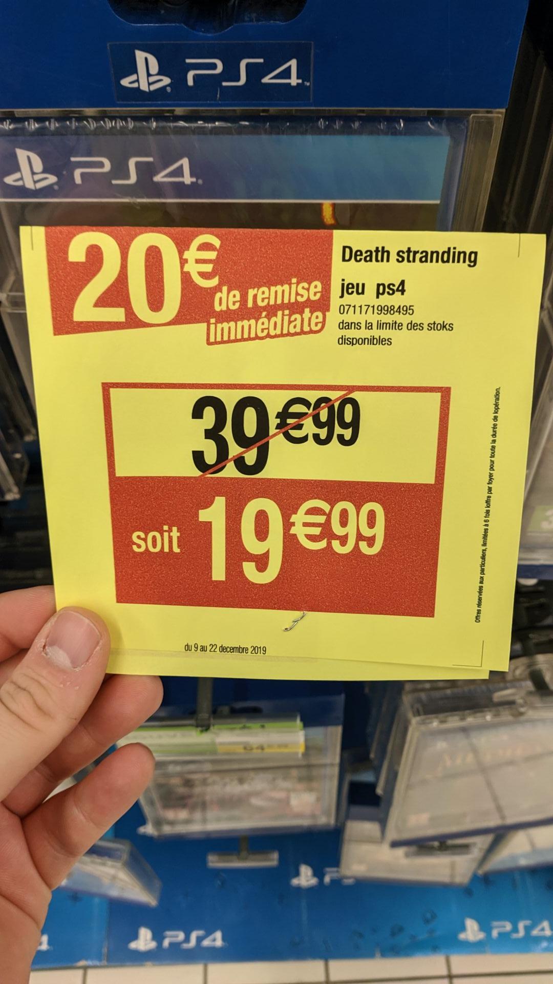 Jeu Death Stranding sur PS4 - Houssen (68)
