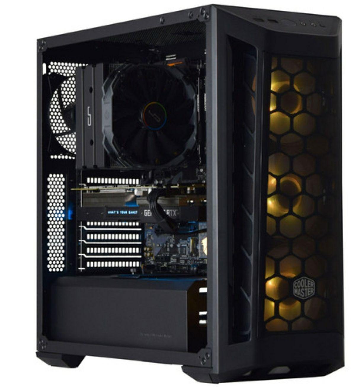 PC Gaming AMD Ryzen 5 3600, 16 Go RAM, SSD NVMe 250 Go, HDD 2 To, RTX 2070 SUPER, WiFi, Windows 10 + 3 mois d'abonnement Xbox Game Pass