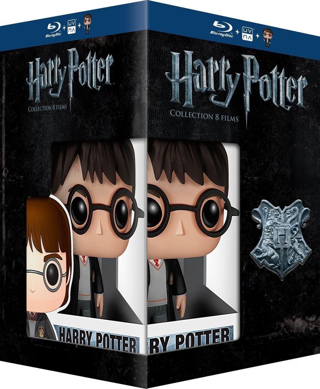 Coffret Blu-ray : Harry Potter - L'intégrale + Figurine Funko Pop!