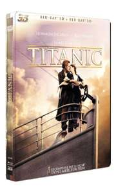 Blu-ray+3D : Titanic: - Edition collector Steelbook