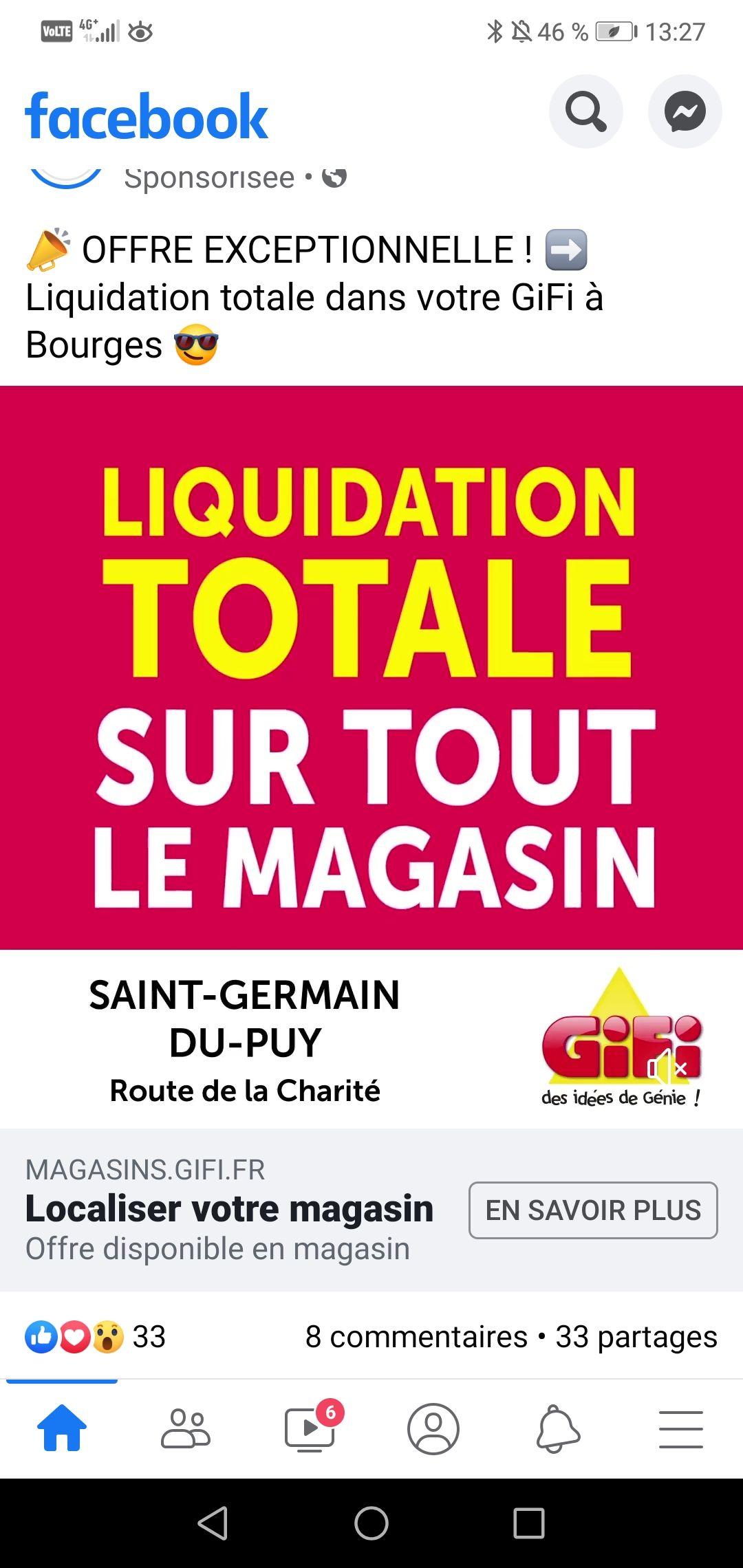 Liquidation totale sur tout le magasin - Saint-Germain-du-Puy (18)