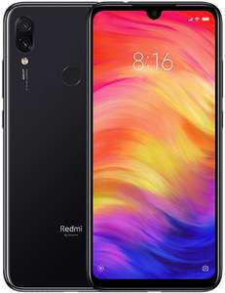 "Smartphone 6.3"" Xiaomi Redmi Note 7 (full HD+, SnapDragon 660, 4 Go de RAM, 128 Go, différents coloris) + écouteurs Mi In-Ear (blanc)"
