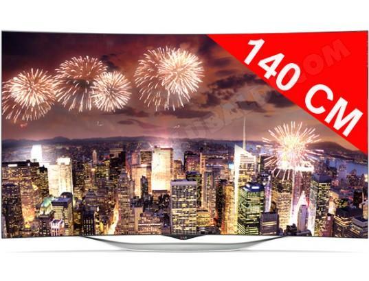 """TV OLED 55"""" LG 55EC930V Incurvée Full HD 3D"""