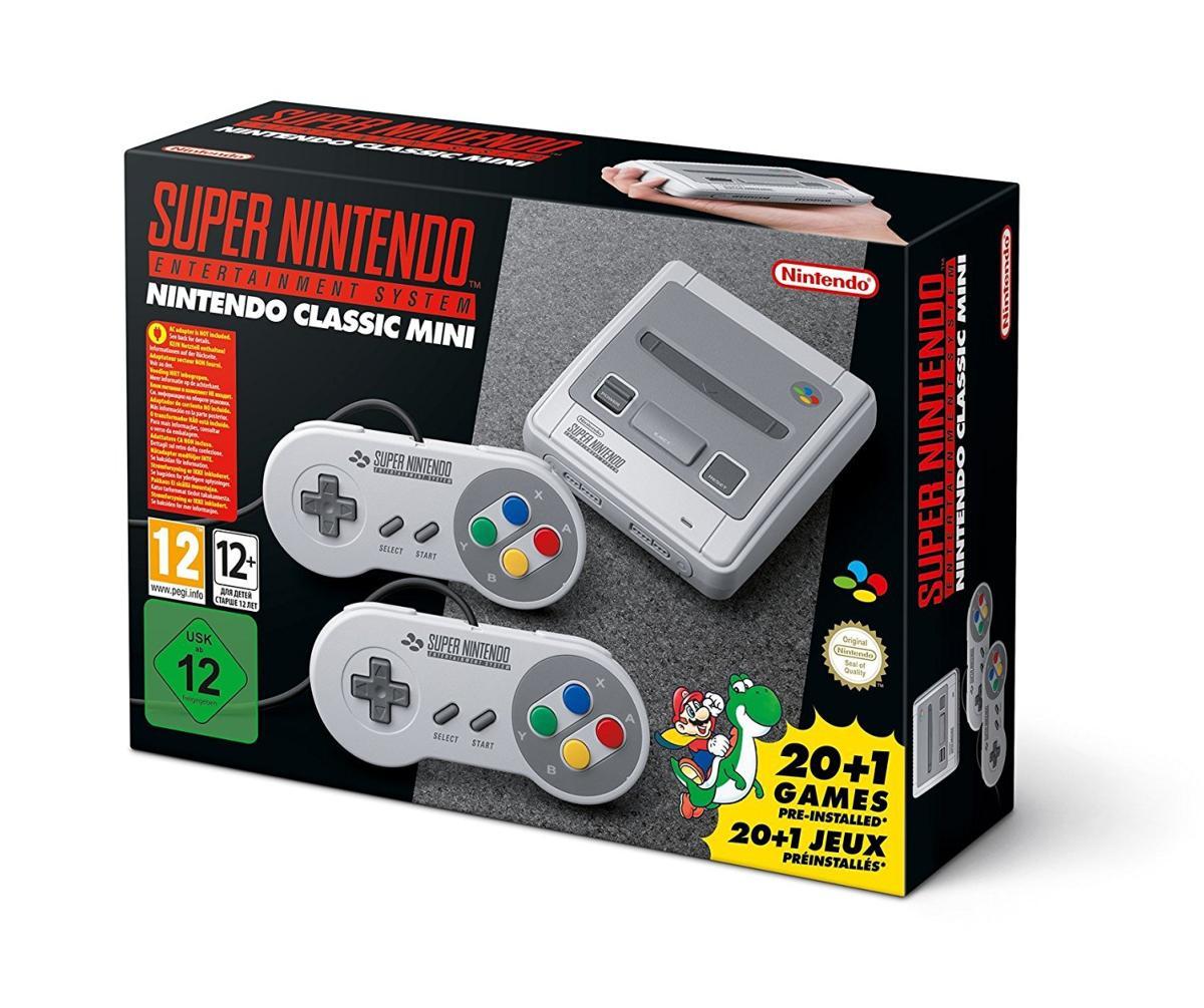 Console Super Nintendo Classic Mini (zone-japon.fr)