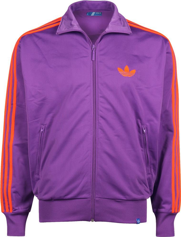 Veste zippée sport Adidas - Coloris violet, S / M / L / XL