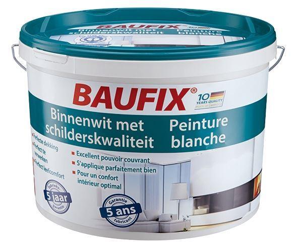 Peinture blanche Baufix - 11L à 16,99€ en magasin