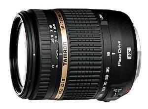 Objectif Tamron 18-270mm F/3,5-6,3 Di II VC PZD - Monture Canon ou Monture Nikon