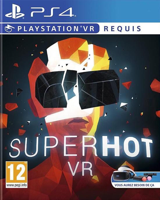 Superhot VR sur PS4 (via retrait magasin)