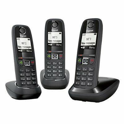 Lot de 3 téléphones Gigaset AS405 Trio DECT/GAP(via ODR 15€)