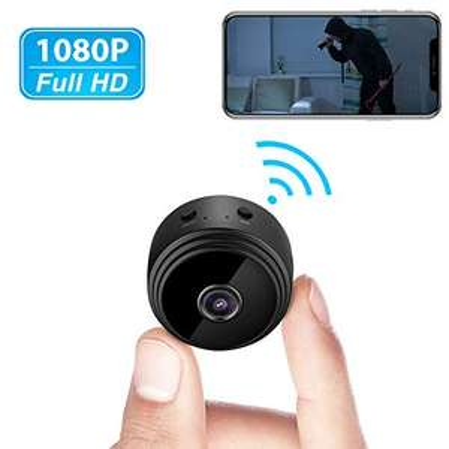 Mini-caméra de surveillance Welcam - 1080p, détection des mouvements, vision nocturne (vendeur tiers)