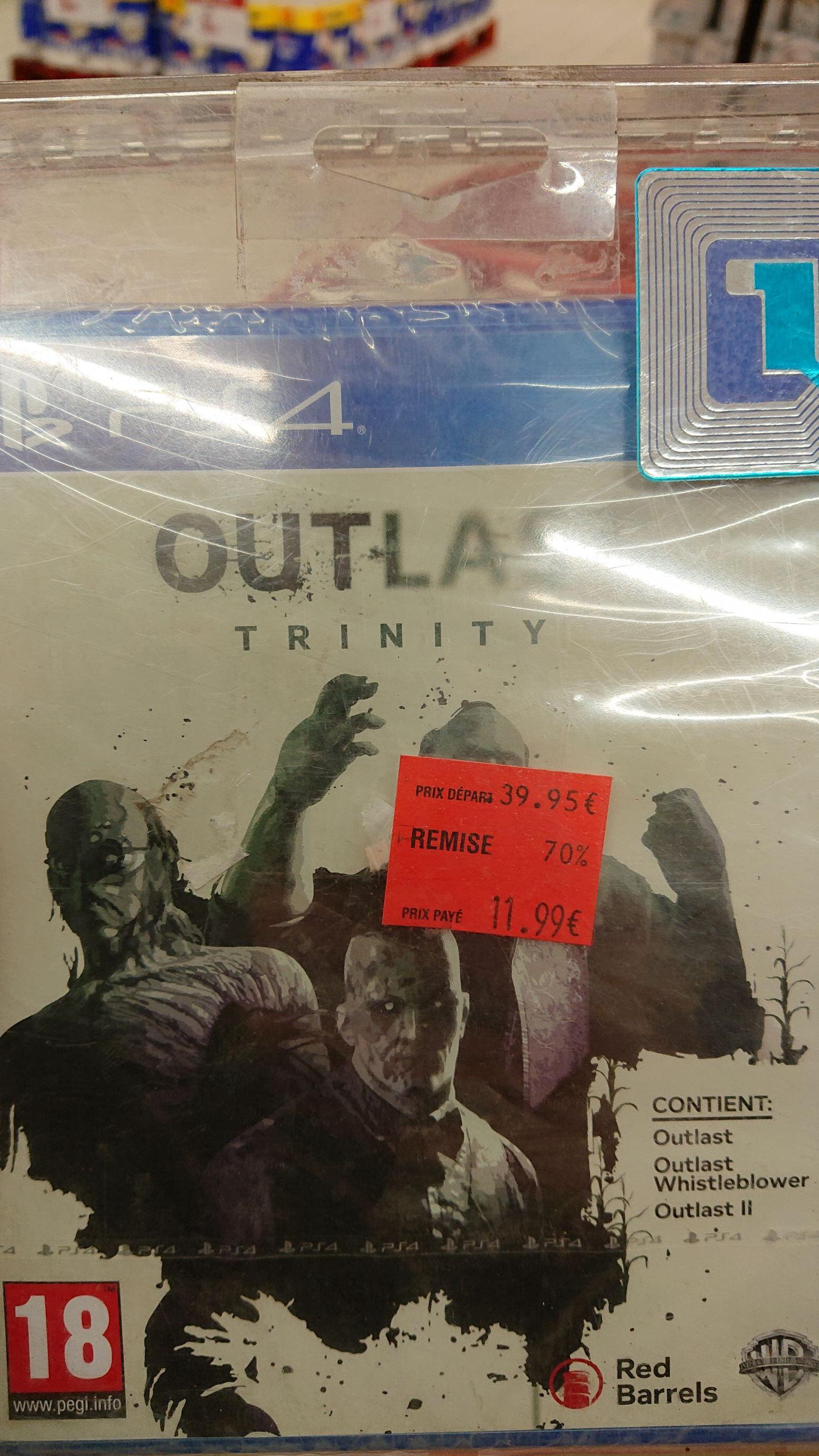 Outlast: Trinity sur PS4 - Chelles (77)