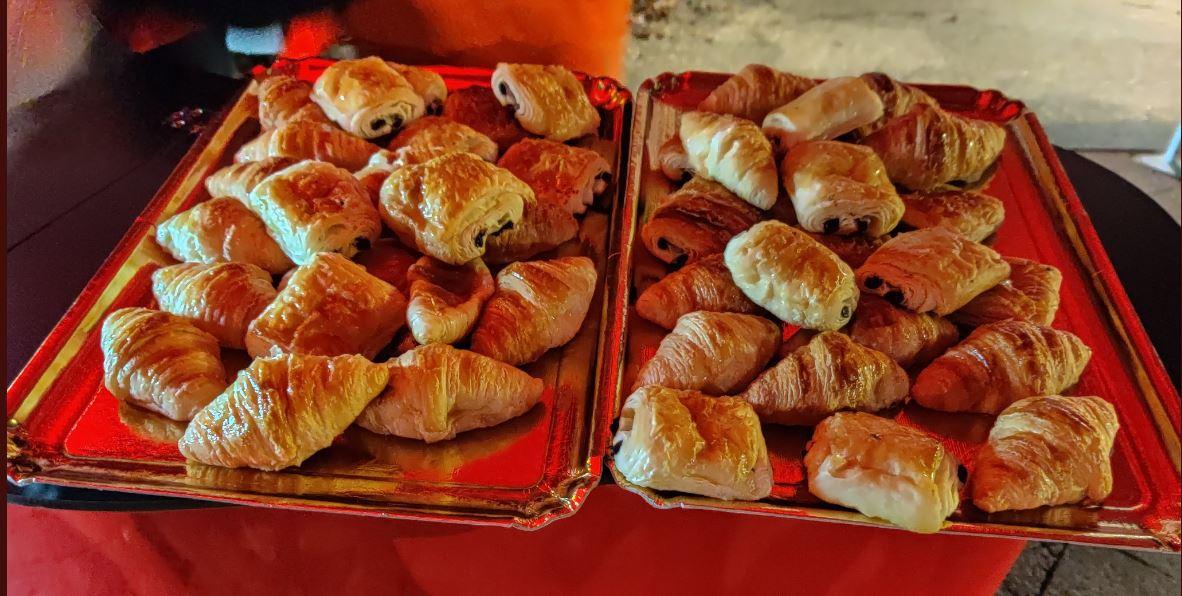 Petit déjeuner offert le Jeudi 19 Décembre en gare de Sainte-Geneviève-des-Bois (91)