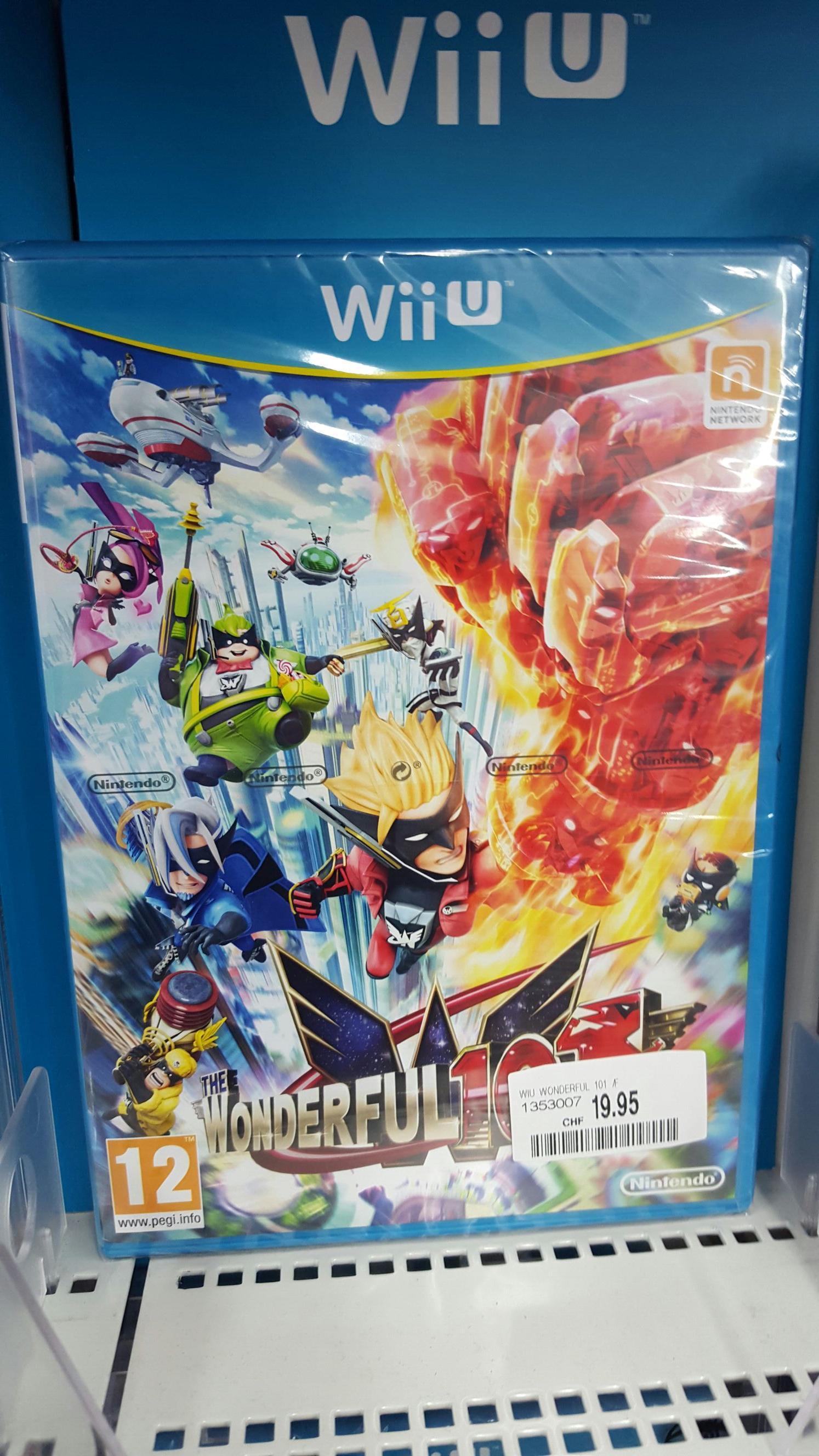 Jeu The wonderful 101 sur Wii U