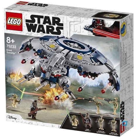 Jouet Lego Star Wars - Canonnière droïde 75233 (via 20.95€ sur la carte fidélité) - en retrait magasin