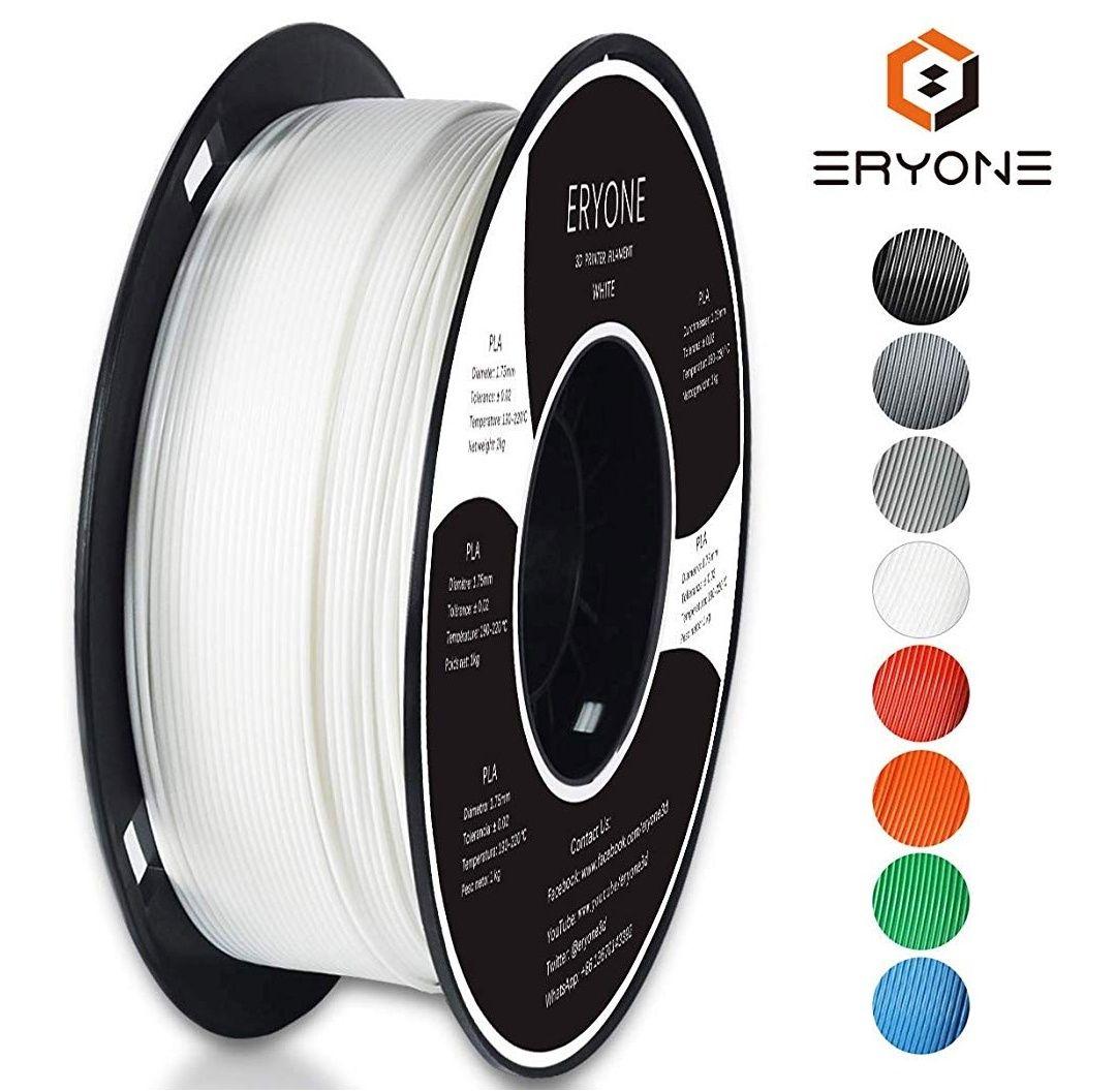 PLA Filament 1.75mm Eryone pour imprimante 3D - 1kg (vendeur tiers)