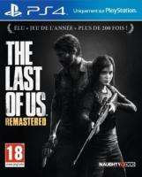 Jeu The Last of us remastered sur PS4