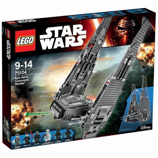 Lego  Star Wars Le Vaiseau de Kylo Ren Command Shuttle (+19.43€ en bon d'achat)