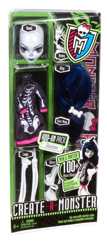 [Panier Plus] Poupée Monster High Créa Terreur Squelette - W9177