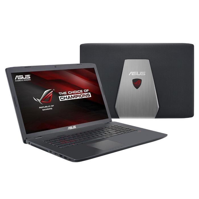 "PC Portable Gamer 17,3"" Asus ROG GL742VW-TY134T : i5-6300HQ, 8 Go RAM, 500 Go HDD, GTX960M"