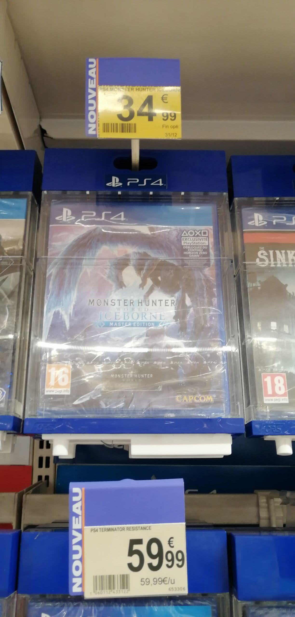 Monster Hunter World: Iceborne Master Edition sur PS4 - Centre Deux (42)
