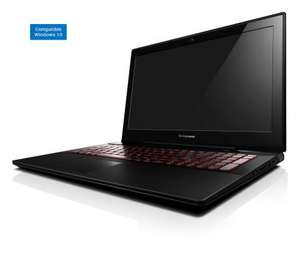 "PC Portable 15.6"" Lenovo Y50-70 59445984 : i7-4720HQ, 16 Go RAM, 1 To HDD, GTX 960M"