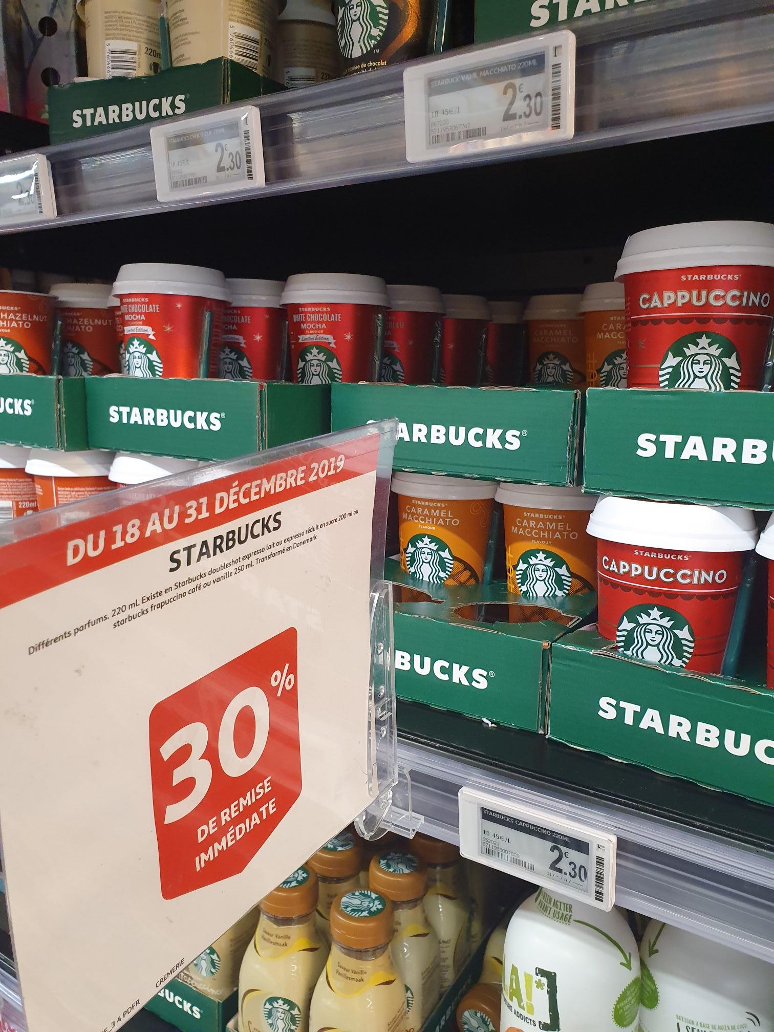 2 boissons Starbucks (via Shopmium) - La Défense (92)