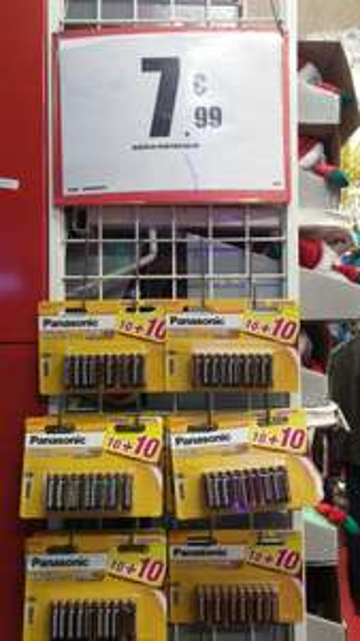Lot de 20 Piles AAA Panasonic