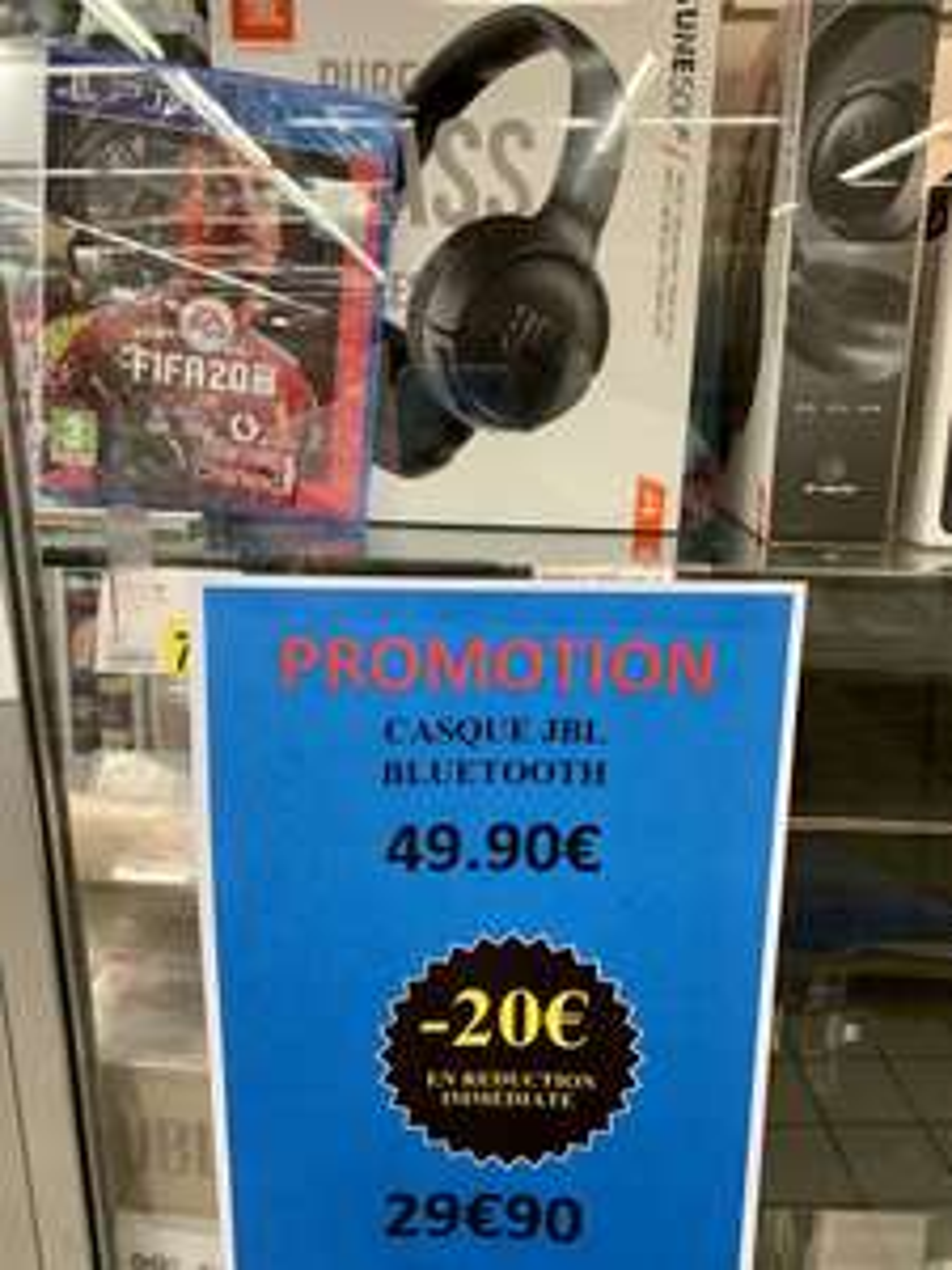 Casque audio JBL Tune 500 Bluetooth - Noir - Pantin (93)