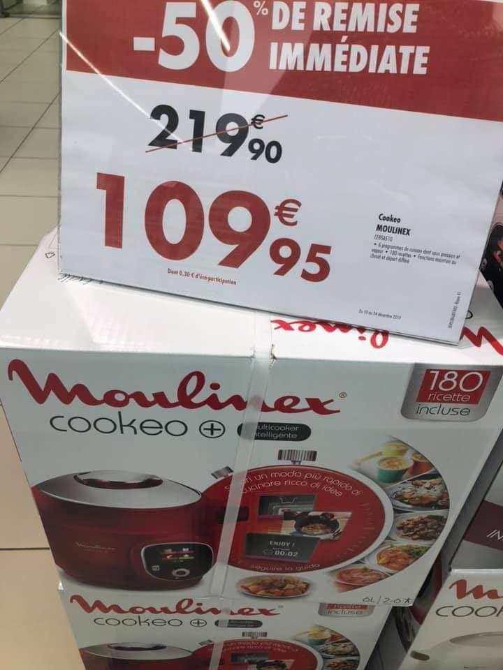 Multicuiseur Moulinex Cookeo+ CE85A510 -180 recettes - 1600 W (v 93)