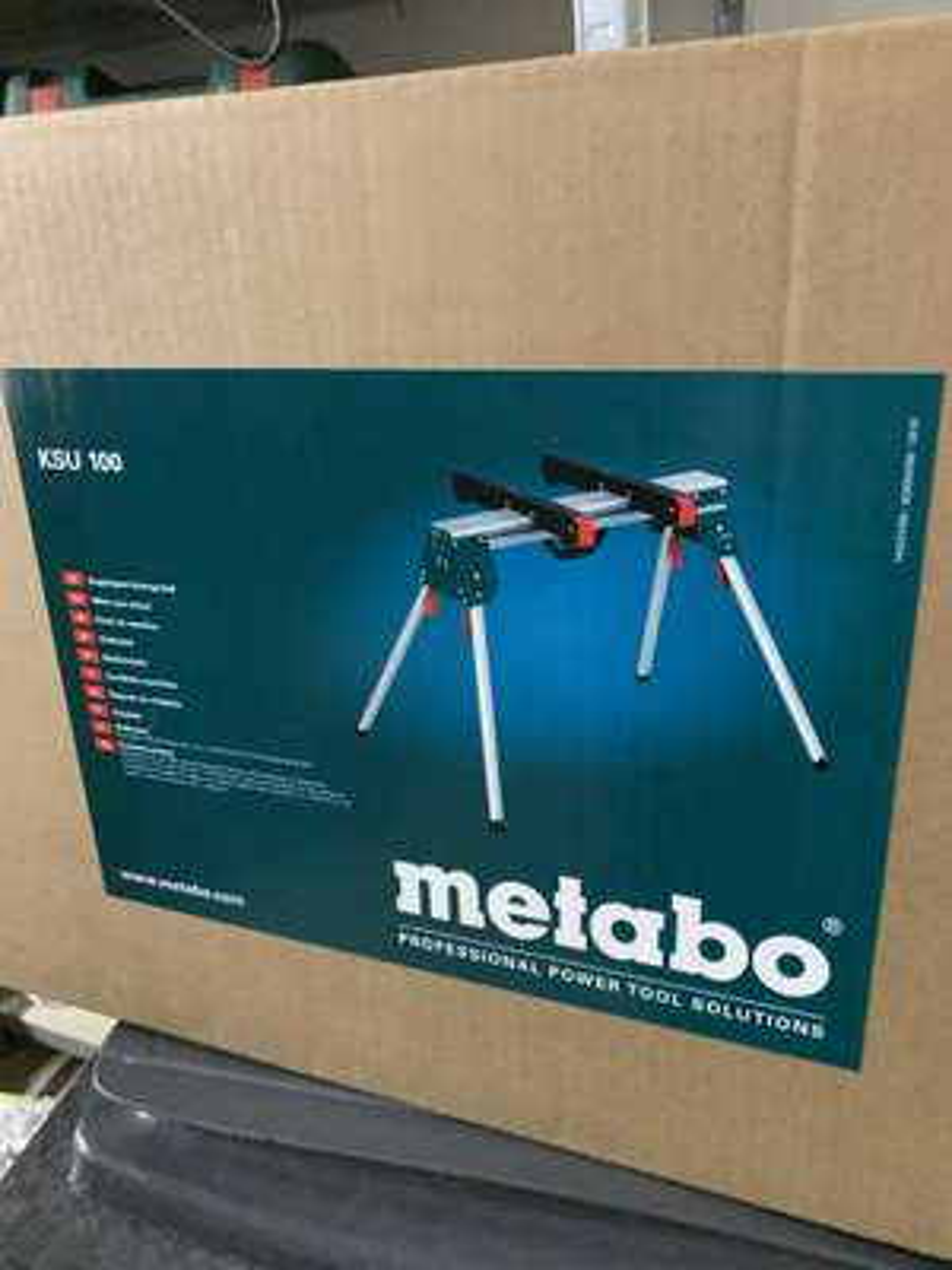 Support de scie à onglets Metabo KSU 100