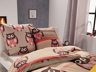 Parure de lit double face renforcé - Meradiso