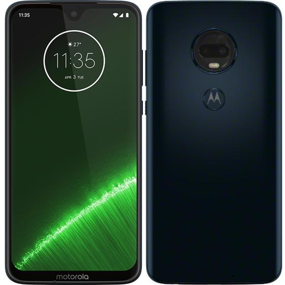 """Smartphone 6.2"""" Motorola Moto G7 Plus - 4Go RAM, 64Go ROM, Android 9.0"""