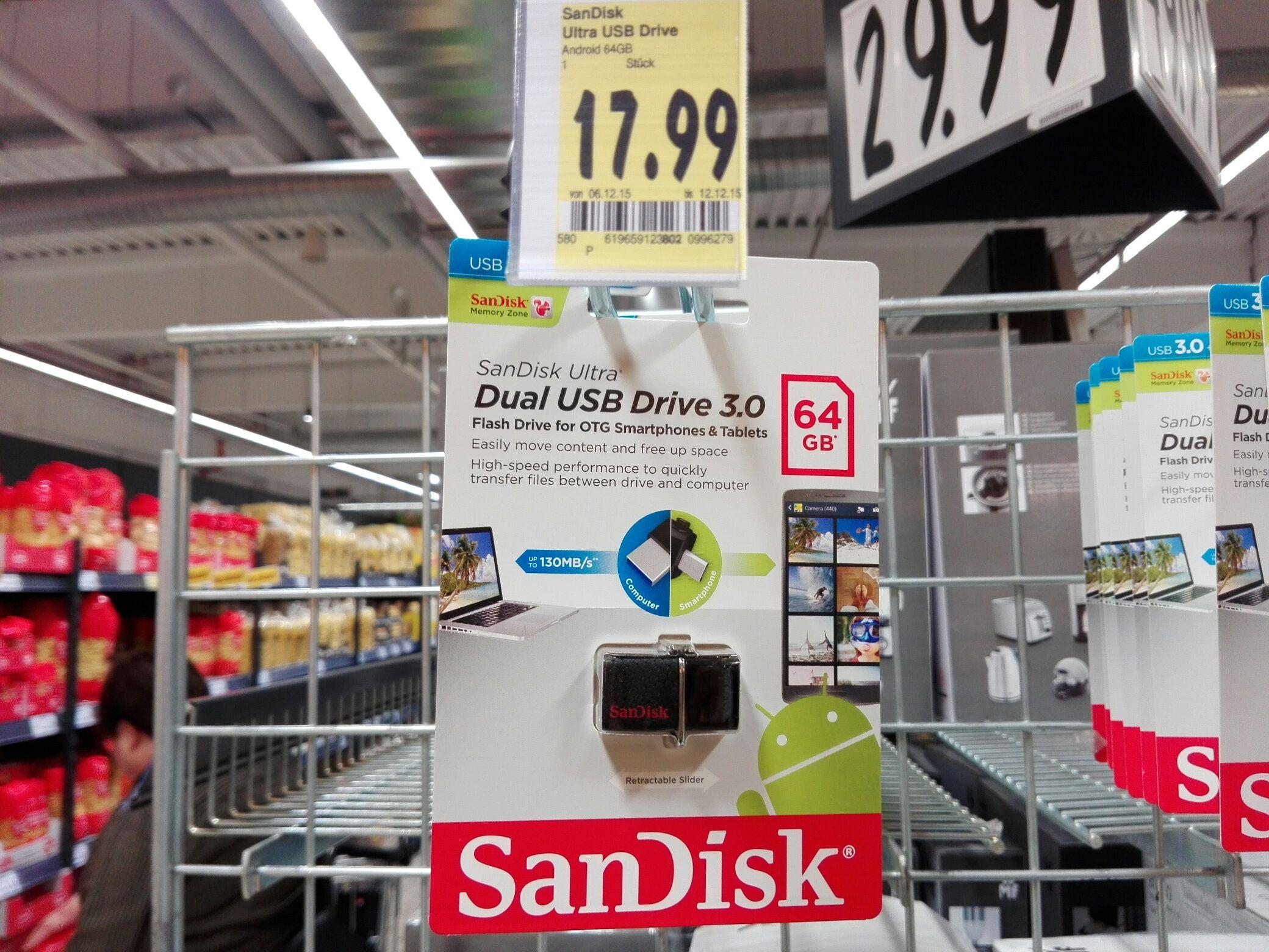 Clé USB 3.0 SanDisk OTG 64Go