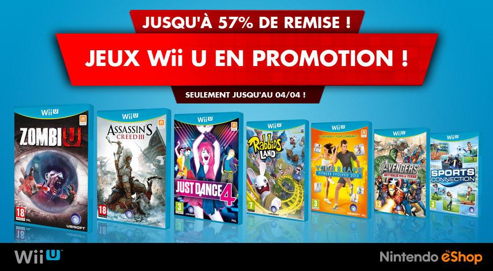 Promos eShop Wii U et 3DS ( versions dématérialisées )