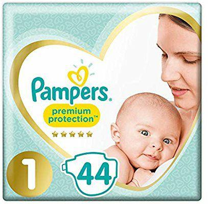 [Panier Plus] Lot de 2 paquets de 44 couches Pampers Premium Proctection - Taille 1