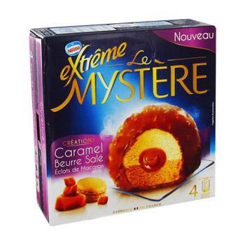 Paquet de 4 glaces Nestlé Extrême Mystère - Plusieurs parfums (via BDR de 1€)