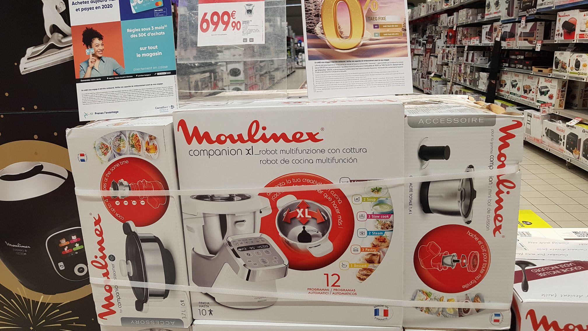 Moulinex Compagnon XL + Accessoires (+140€ de bons d'achat) - Riom (63)