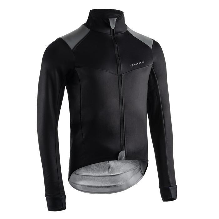 Veste de vélo route hiver Van Rysel Extreme Temps Froid - Noir (Plusieurs tailles)
