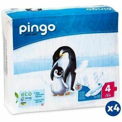 Pack de 160 couches Pingo - Taille 4 (7 à 18 kg)