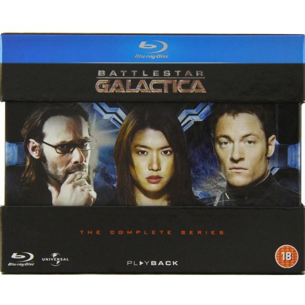Coffret Blu-ray : Battlestar Galactica L'intégrale (VOST)