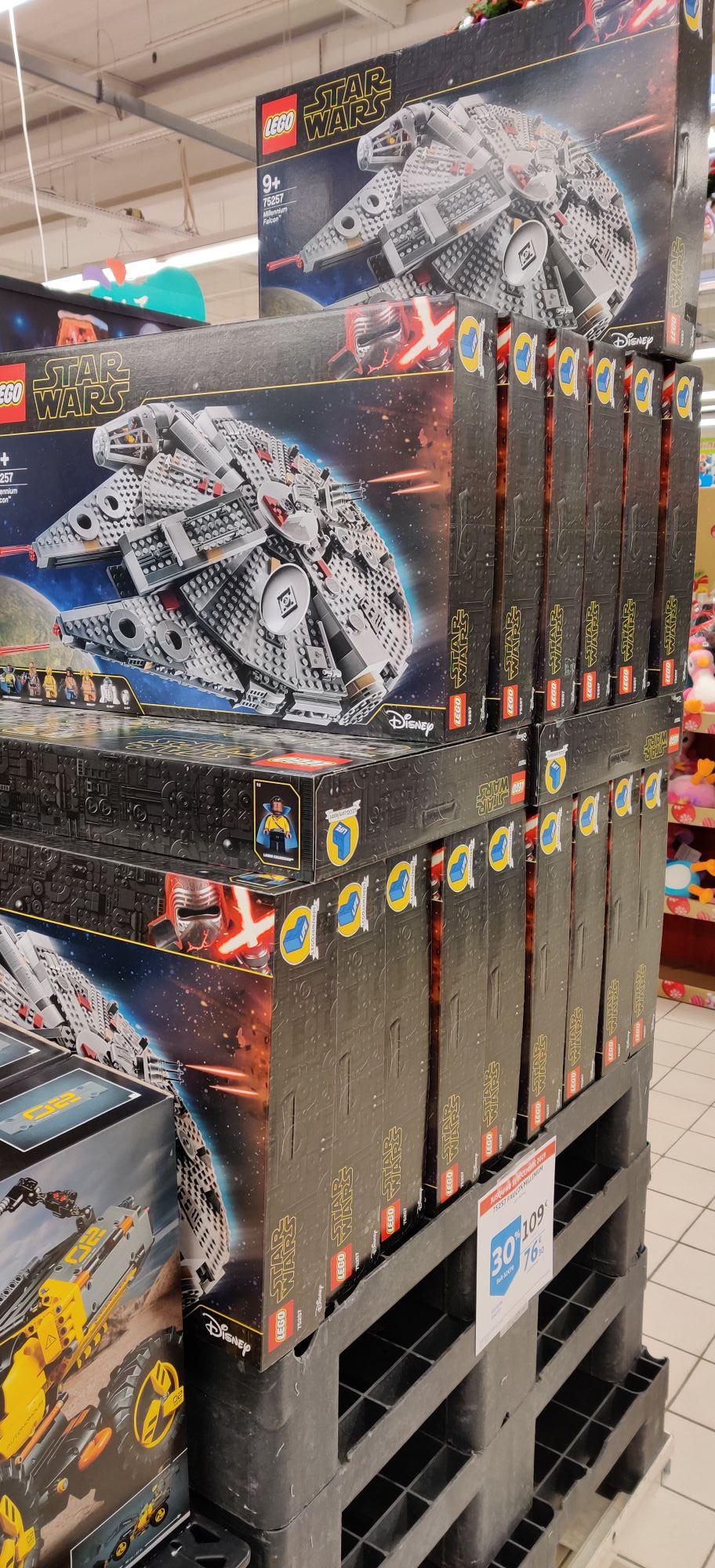 Lego Star Wars 75257 - Faucon Millenium (via 30% sur la Carte Fidélité) - Villeneuve-d'Ascq (59)