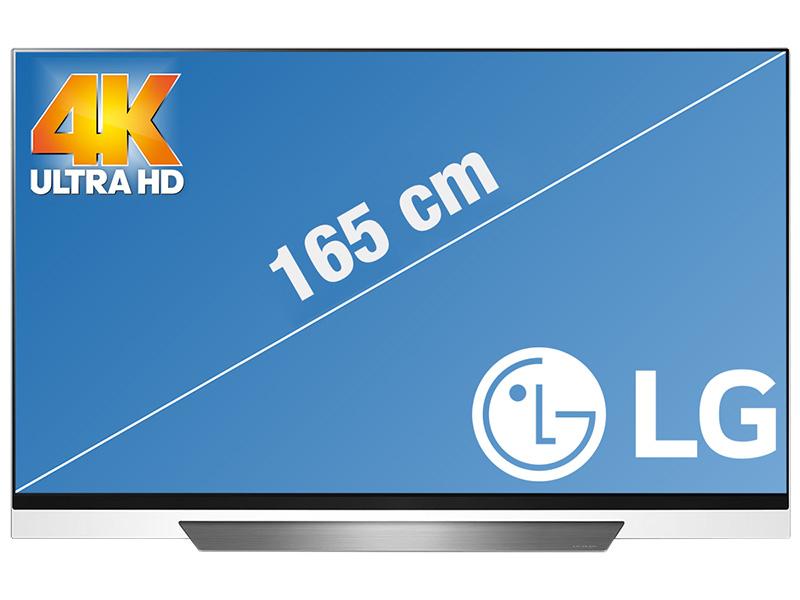 "TV 65"" LG OLED65E8 - OLED, 4K UHD, HDR, Smart TV (Frontaliers Suisse)"