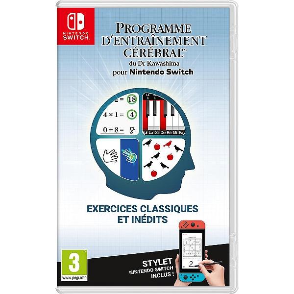 [Précommande] Programme d'entrainement cérébral du Dr Kawashima sur Nintendo Switch