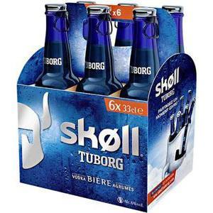 Pack de 6 Bières Skoll 33cl (30% Bon d'achat + 1.20€ BDR)