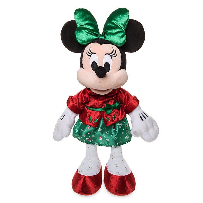 """Peluche 43cm """"Minnie Holiday Cheer"""" à 10.90€ dès 15€ d'achat sur le site"""
