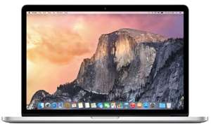 "PC Portable 13.3"" Apple MacBook Pro (Version 2015) - Retina, i5 2.7 GHz, RAM 8 Go, SSD 128 Go, QWERTZ"