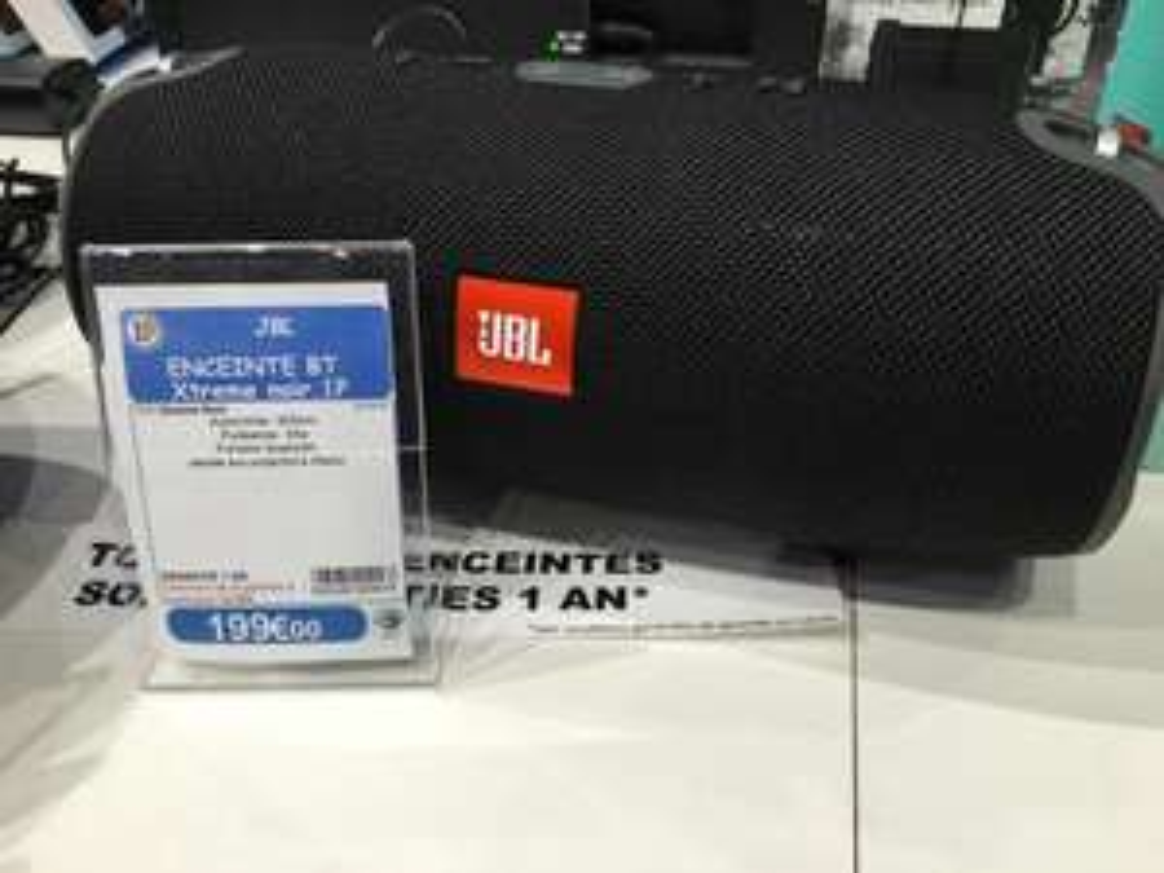 Enceinte portable bluetooth JBL Xtreme Noire