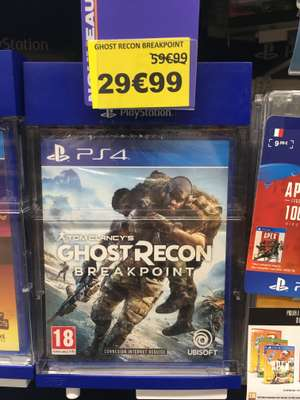 Tom Clancy's Ghost Recon Breakpoint sur PS4 et Xbox One - Épargny (74)