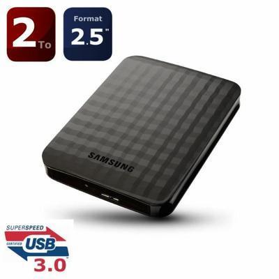 "Disque dur externe 2,5"" Samsung M3 2 To USB 3.0"